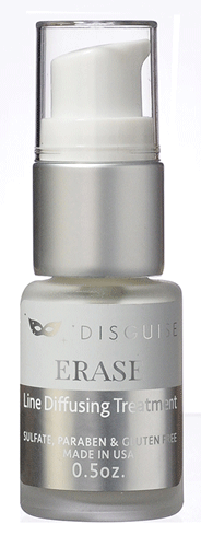Disguise Beauty Signature Product! Contains a powerful blend of proprietary oligopeptides and tetra peptides that help reduce the appearance of fine lines and wrinkles. Recommend for all skin types. apply a small amount daily to any area to disguise. Then, allow to dry. Follow with moisturizer.